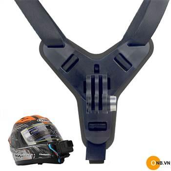 Bộ gắn cằm mũ bảo hiểm Fullface Gopro Osmo Action