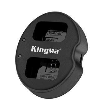 Bộ sạc 2 Pin King Ma FW50 USB chính hãng cho Sony Alpha