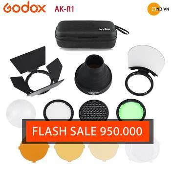 Bộ tản sáng Godox AK-R1 chính hãng hot 2019