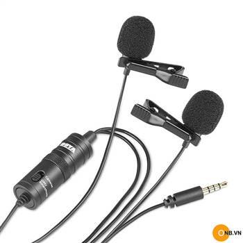 Boya M1 Microphone Thu Âm Cài Áo Dây dài