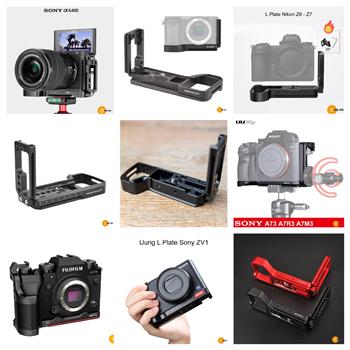 Chuyên bán Cage Khung - L Plate cho máy ảnh Sony Canon Nikon