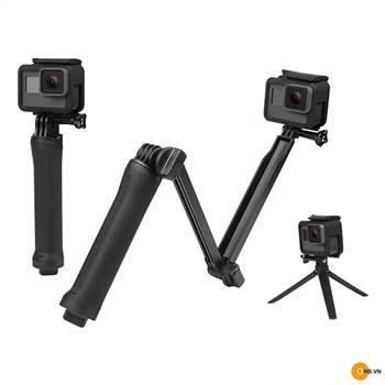 Gậy 3Ways 3 khúc Mono Tripod dành cho GoPro, Osmo Action Pocket
