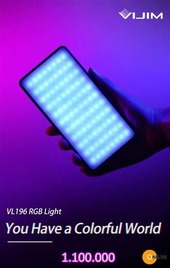 Đèn Led Ulanzi VIJIM VL196 Led RGB tốt nhất thị trường hiện nay