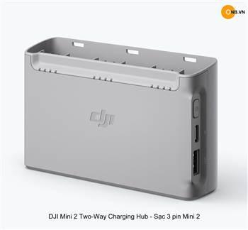 DJI Mini 2 Two-Way Charging Hub - Sạc 3 pin Mini 2