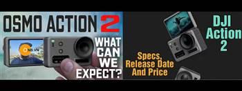 DJI Osmo Action 2 - hình ảnh đầu tiên !