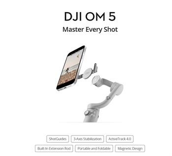DJI Osmo Mobile 5 - Gimbal quay chống rung cho điện thoại 2021