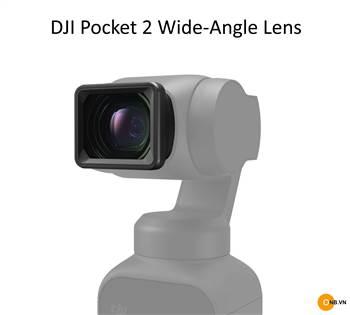 DJI Pocket 2 Wide-Angle Lens - Len góc rộng Pocket 2