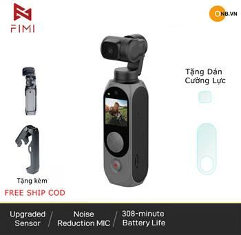 Fimi Palm 2 - 4K Gimbal Camera nhỏ gọn chống rung mới 2021