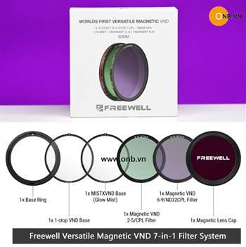Freewell Versatile Magnetic VND 7-in-1 Filter dạng hít, ghép filter vào nhau
