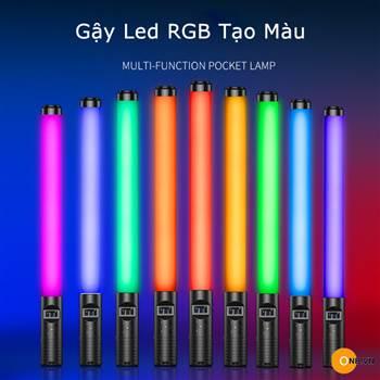 Led Light Stick RGB - Gậy Led 50cm chỉnh màu, độ K, Pin sạc