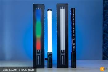 Gậy led chỉnh màu RGB, xu hướng quay chụp hiệu ứng màu 2021