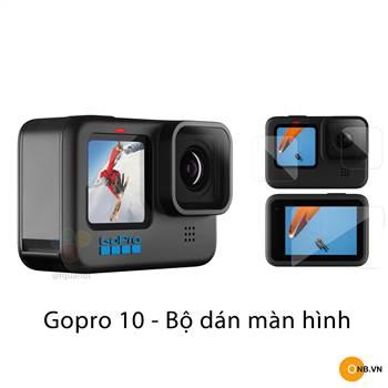 Gopro 10 Bộ Dán Màn Hình Cường Lực Bảo Vệ