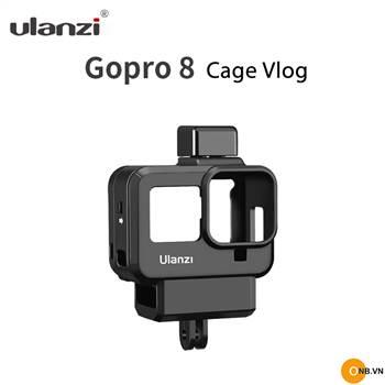 Gopro 8 - Ulanzi G8-9 Khung nhựa bảo vệ Vlog mẫu mới 2020