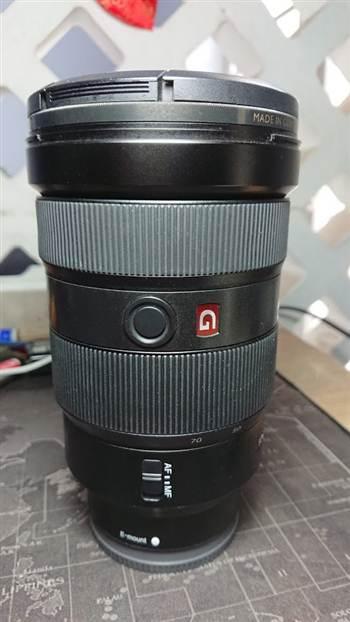 Hướng dẫn thay cao su cho lens Sony GM 24-70 F2.8 giá siêu rẻ