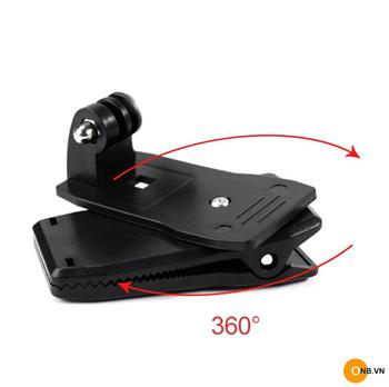 Kẹp gắn balo xoay 360 độ cho Gopro Osmo Action Pocket
