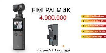FIMI PALM 4K Gimbal Camera nhỏ gọn chống rung, góc rộng