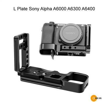 L Plate thanh bảo vệ Sony Alpha A6300 A6400 phiên bản mới 2021