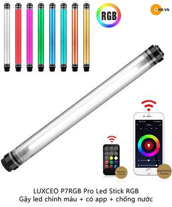 LUXCEO P7RGB Pro Led Stick RGB - Gậy led 40cm kết nối app