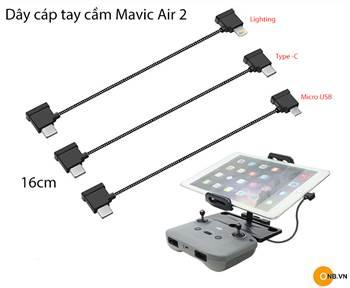 Mavic Air 2 Dây cáp tay cầm điều khiển Lighting - Type C - Micro