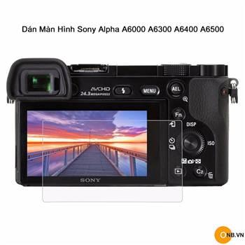 Dán màn hinh máy ảnh Sony Alpha A6000 A6300 A6400 A6500