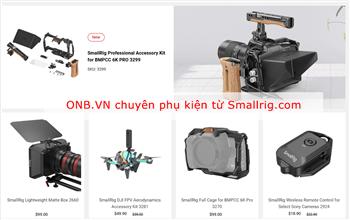 ONB.VN cung cấp tất cả phụ kiện Smallrig tại Việt Nam