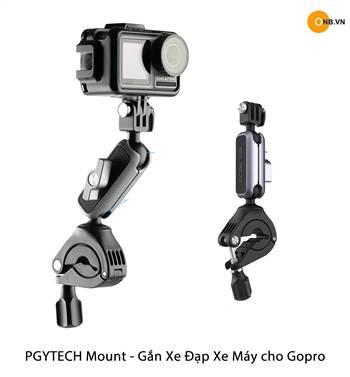 PGYTECH Handlebar Mount gắn xe máy, xe đạp Gopro, Pocket
