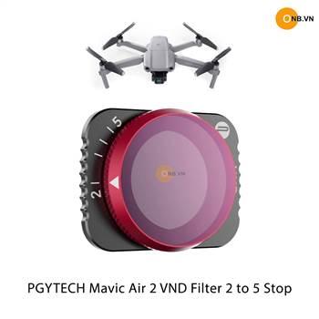 PGYTECH Mavic Air 2 VND Filter 2-5 stops ( ND4-ND32)