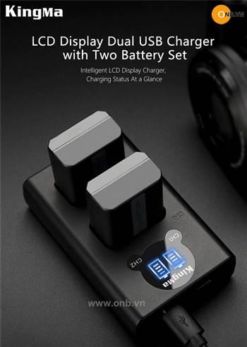 Pin Kingma FW50 dòng mới ra 2020 cho máy ảnh Sony