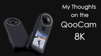 QooCam 8K ! camera bỏ túi đầu tiền thế giới quay 8K và 360 độ