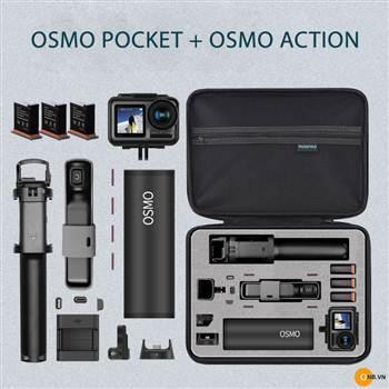 Ruigpro túi chống sốc bảo vệ Osmo Pocket Osmo Action Combo