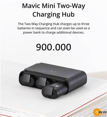Sale Bộ Hub sạc 3 pin cho Mavic Mini chính hãng chỉ còn 900k