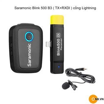 Saramonic Blink 500 B3 (TX+RXDI) cổng Lightning