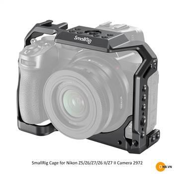 SmallRig 2972 Cage for Nikon Z5/ Z6 / Z7 / Z6II / Z7II
