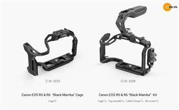 SmallRig Black Mamba - Khung quay mới nhất cho Canon EOS R5 và R6