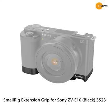 SmallRig Extension Grip for Sony ZV-E10 (Black) 3523
