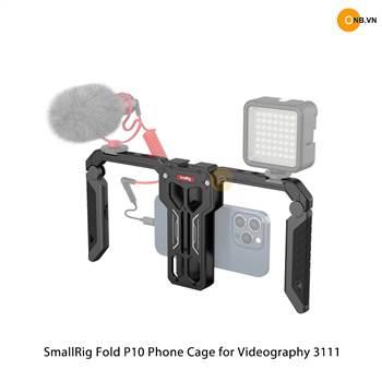 SmallRig Fold P10 Phone Cage 3111 - Khung quay điện thoại thu gọn