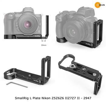 SmallRig L Plate Nikon Z5 Z6 Z6II Z7 Z7II - 2947