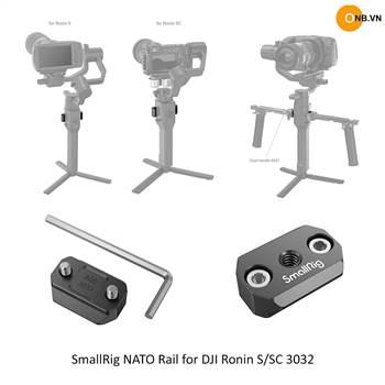 Smallrig Rail Ronin S và SC dùng chung phụ kiện RS2 và RSC2