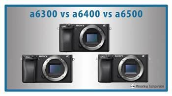 So sánh điểm khác nhau mảy ảnh Sony a6300, a6400 và a6500