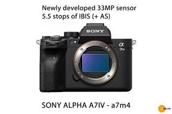 Sony Alpha a7m4 ra mắt cuối năm 2021 - cảm biến mới 33megapixel - 4K60fps