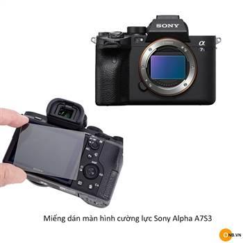 Sony Alpha A7S3 miếng dán màn hình cường lực
