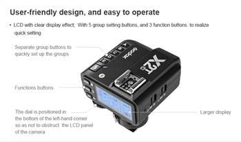 Tài liệu hướng dẫn sử dụng Trigger Godox X2T Sony Canon Nikon