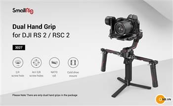 Tay cầm đôi, tay cầm đơn Smallrig cho Gimbal Ronin RS2 - RSC2