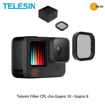 Telesin FIlter CPL cho Gopro 10 - Gopro 9 hỗ trợ quay