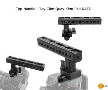 Top Handle - Tay cầm quay kiểu Rail Smallrig Nato 1955