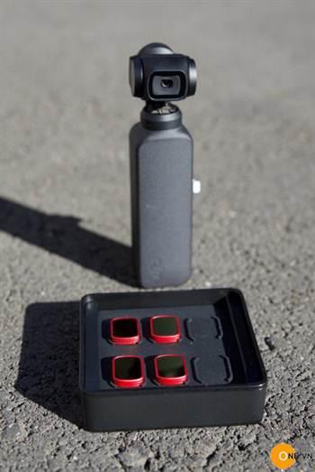 Trên tay bộ 4 Filter cao cấp PGYTECH ND cho Osmo Pocket
