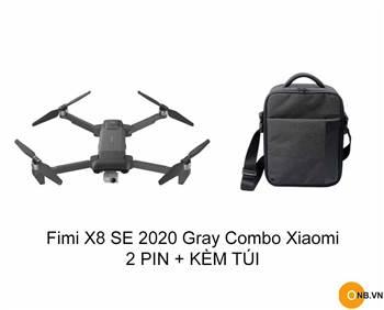 Trên tay Fimi X8 SE 2020 4K bản màu xám đầu tiên tại Việt Nam