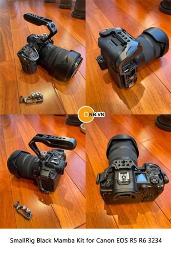 Trên tay SmallRig Black Mamba Kit for Canon EOS R5 R6 3234