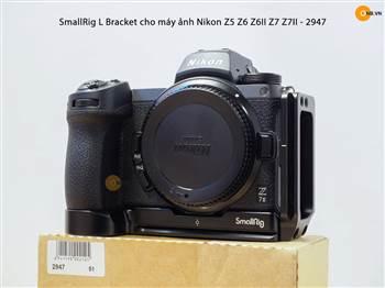 Trên tay Smallrig L Plate 2947 cho Nikon Z5 Z6 Z7 Z6II Z7II
