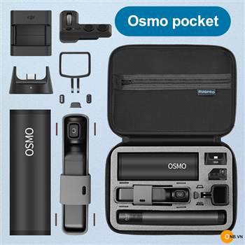 Trên tay túi chống nước Ruigpro cao cấp cho Osmo Pocket cao